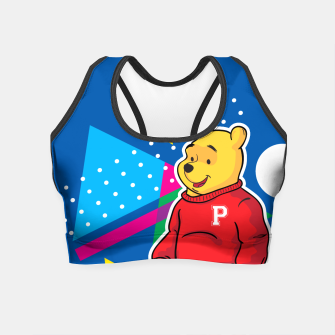 Thumbnail image of Pooh Crop Top, Live Heroes
