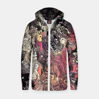 Thumbnail image of Twisted Realms Cotton zip up hoodie, Live Heroes