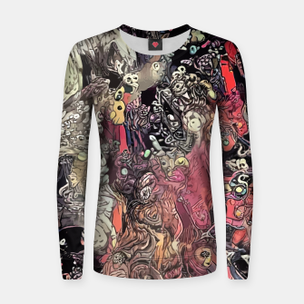Thumbnail image of Twisted Realms Woman cotton sweater, Live Heroes