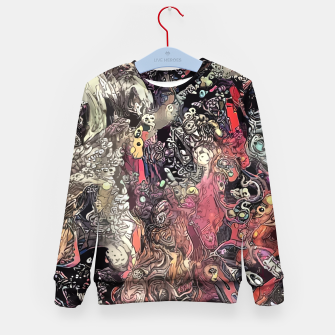Thumbnail image of Twisted Realms Kid's sweater, Live Heroes