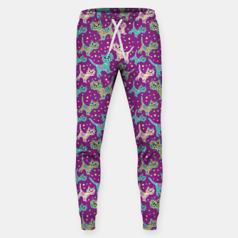Thumbnail image of  Funny cats Cotton sweatpants, Live Heroes