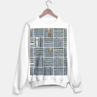 Thumbnail image of The Bookish Checkerboard Sweater regular, Live Heroes