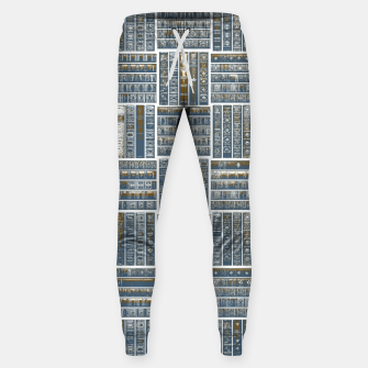 Thumbnail image of The Bookish Checkerboard Cotton sweatpants, Live Heroes