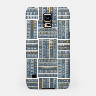 Thumbnail image of The Bookish Checkerboard Samsung Case, Live Heroes