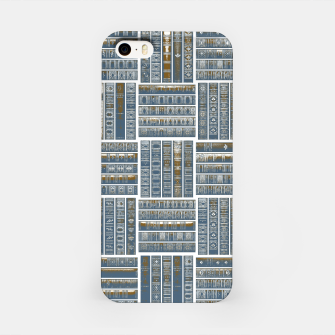 Thumbnail image of The Bookish Checkerboard iPhone Case, Live Heroes