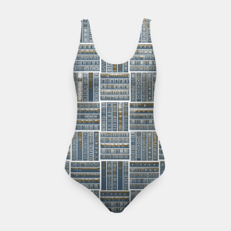 Miniatur The Bookish Checkerboard Swimsuit, Live Heroes