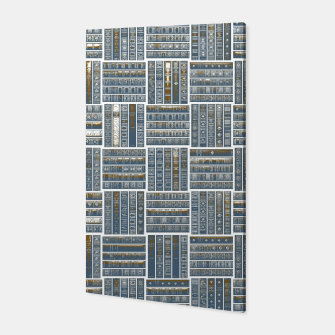 Miniatur The Bookish Checkerboard Canvas, Live Heroes