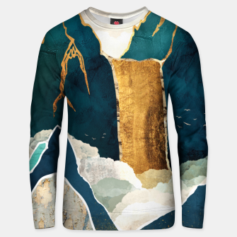 Thumbnail image of Golden Waterfall Cotton sweater, Live Heroes