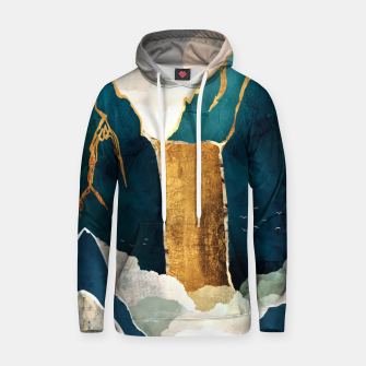 Thumbnail image of Golden Waterfall Cotton hoodie, Live Heroes