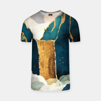 Thumbnail image of Golden Waterfall T-shirt, Live Heroes