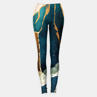 Thumbnail image of Golden Waterfall Leggings, Live Heroes