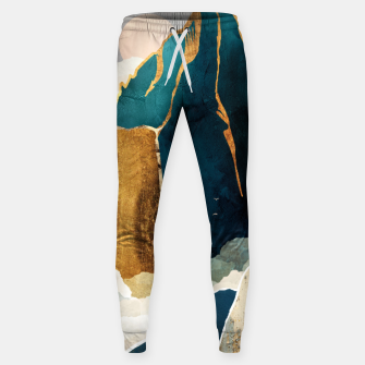 Thumbnail image of Golden Waterfall Cotton sweatpants, Live Heroes