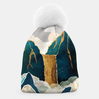 Thumbnail image of Golden Waterfall Beanie, Live Heroes
