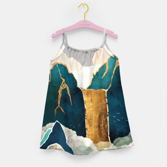 Thumbnail image of Golden Waterfall Girl's dress, Live Heroes