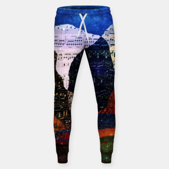 Miniatur The Hills are Alive With the Sound of Music Cotton sweatpants, Live Heroes