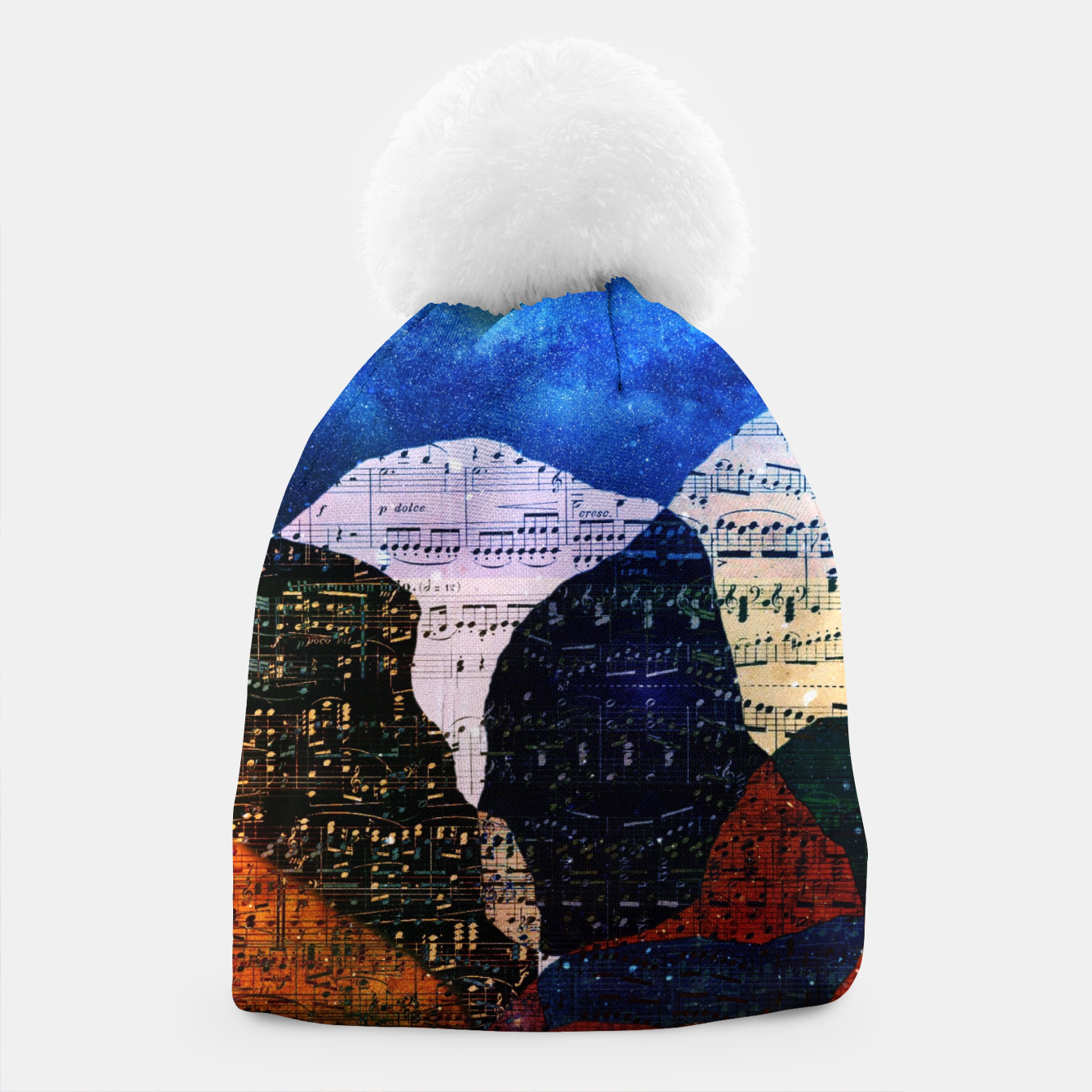 Foto The Hills are Alive With the Sound of Music Beanie - Live Heroes