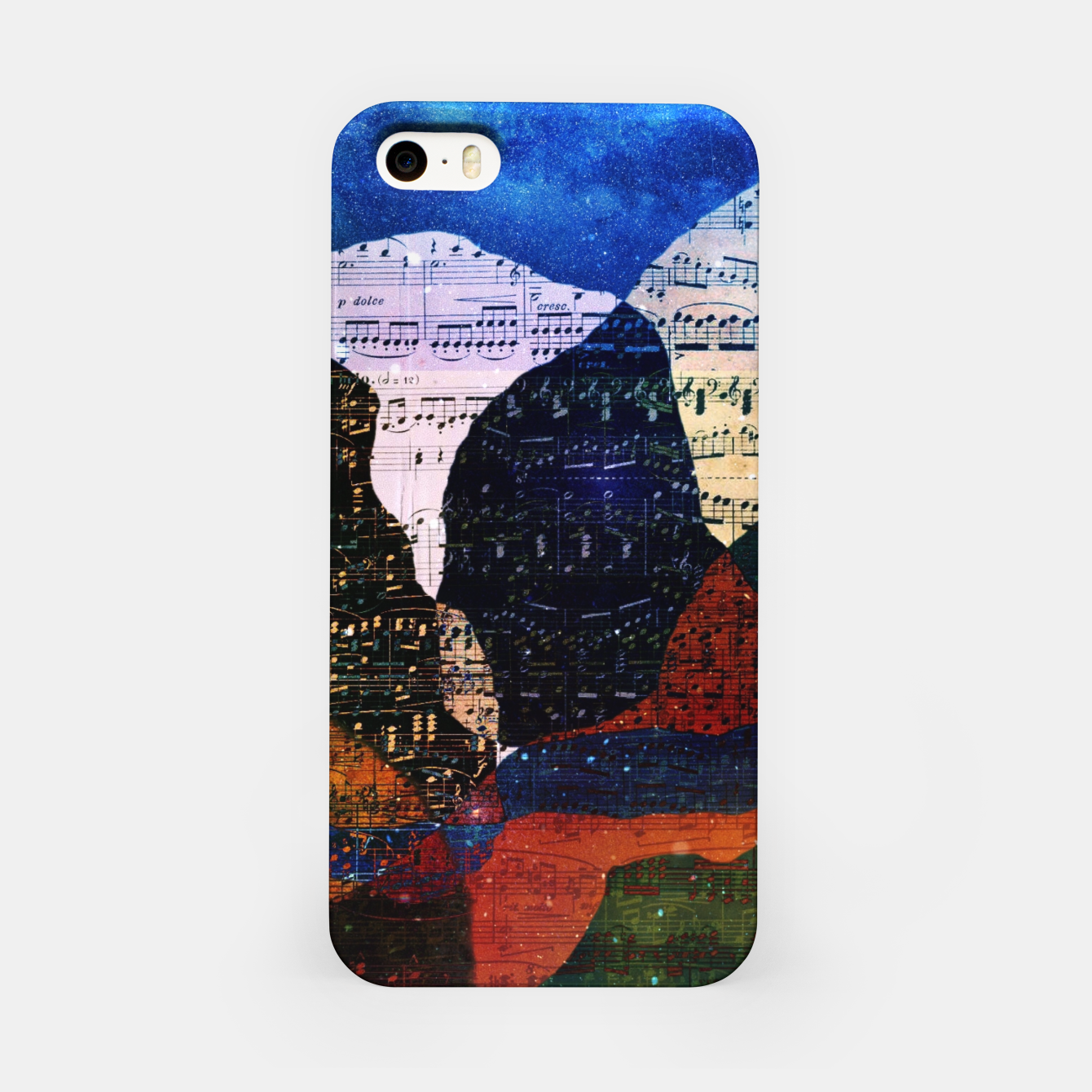 Foto The Hills are Alive With the Sound of Music iPhone Case - Live Heroes