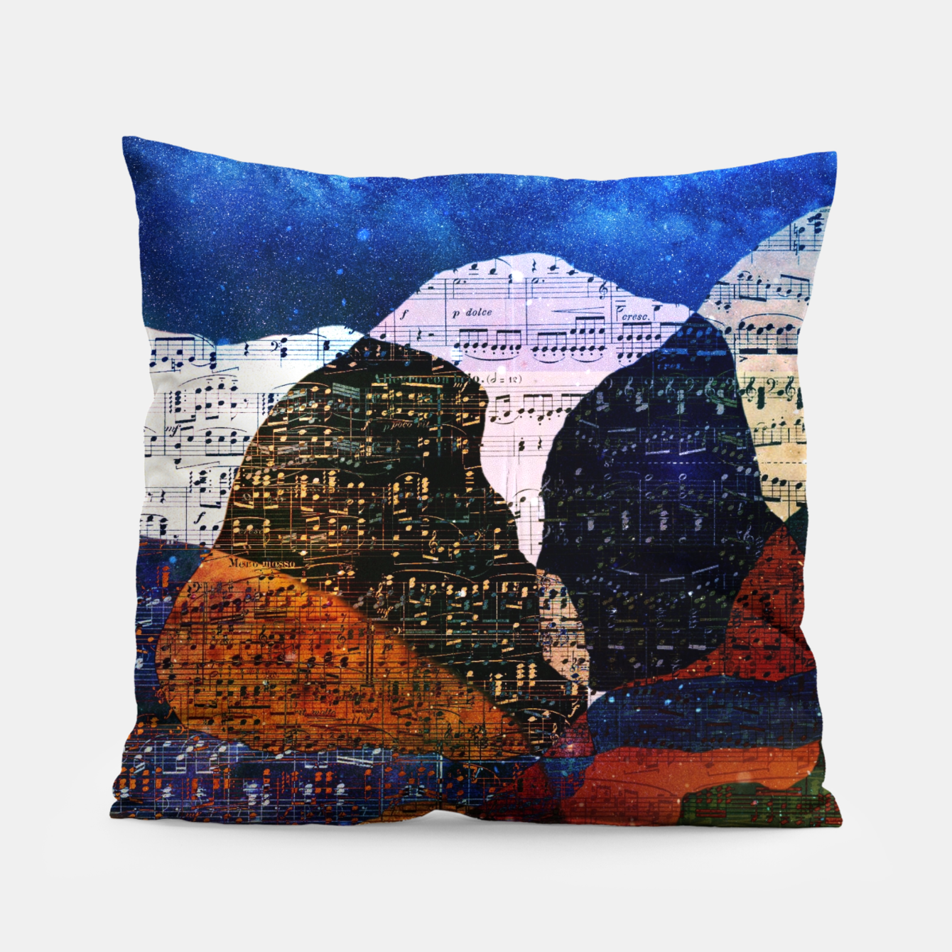 Foto The Hills are Alive With the Sound of Music Pillow - Live Heroes
