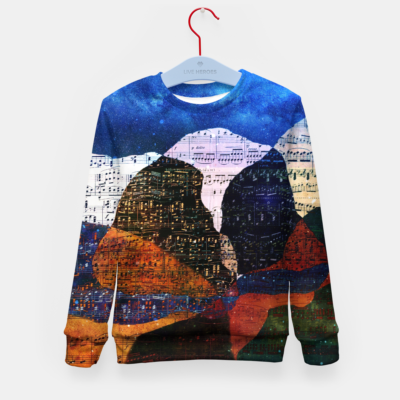 Foto The Hills are Alive With the Sound of Music Kid's sweater - Live Heroes