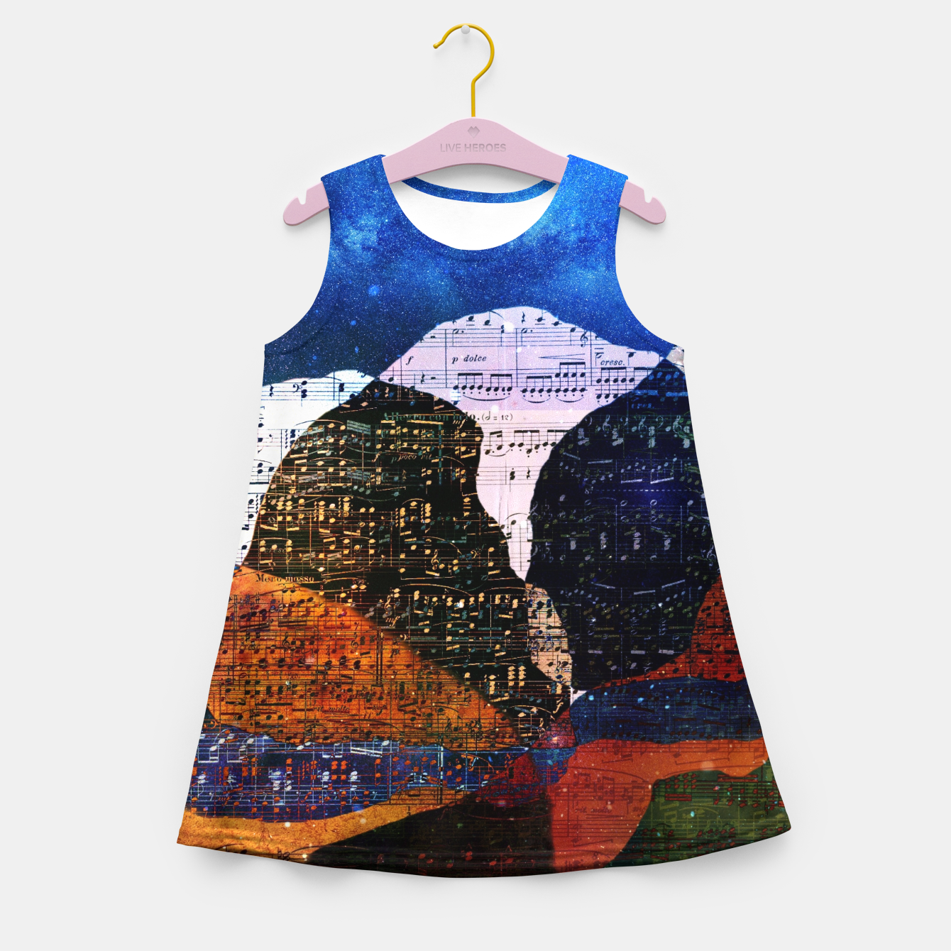 Foto The Hills are Alive With the Sound of Music Girl's summer dress - Live Heroes