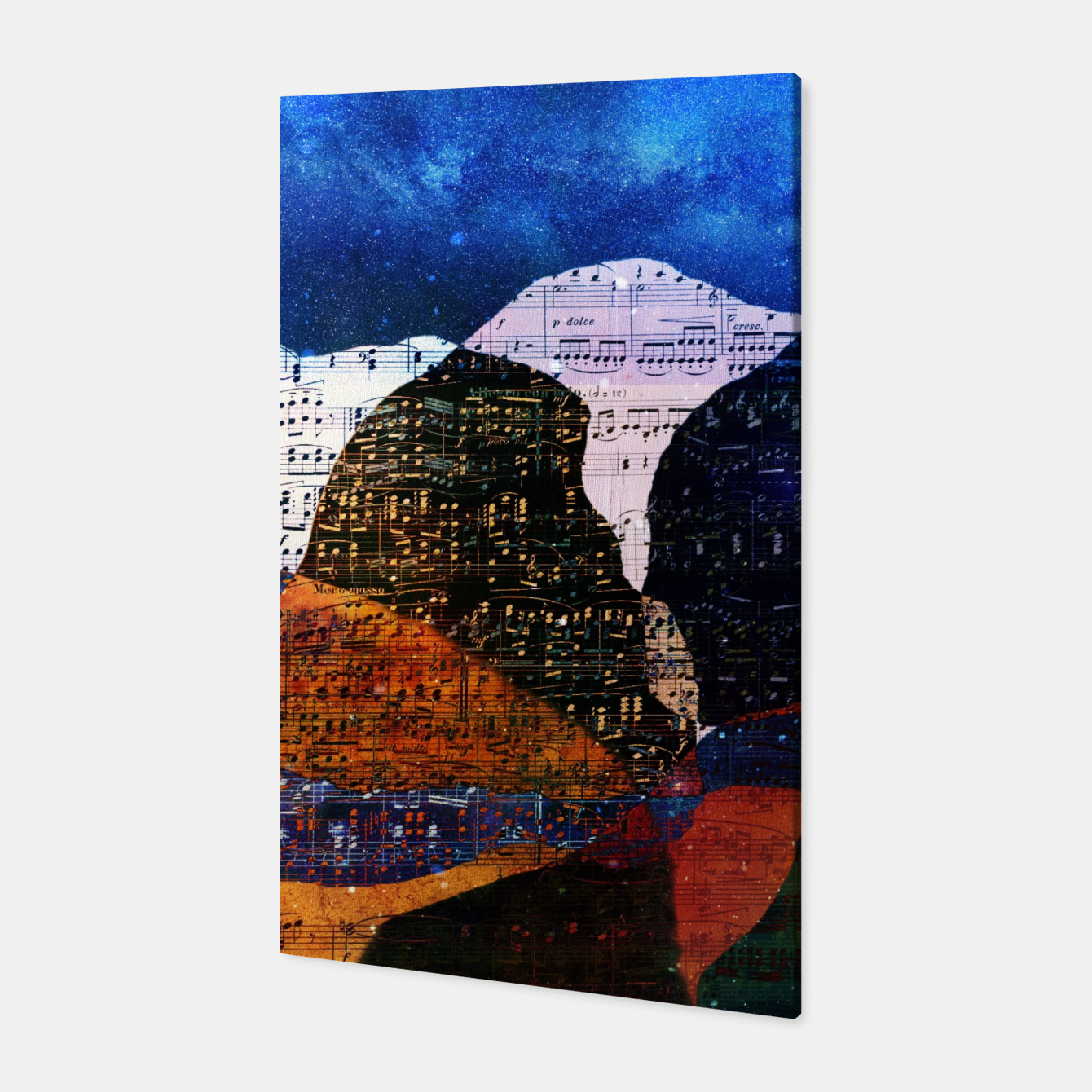 Foto The Hills are Alive With the Sound of Music Canvas - Live Heroes