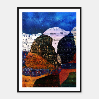 Miniatur The Hills are Alive With the Sound of Music Framed poster, Live Heroes
