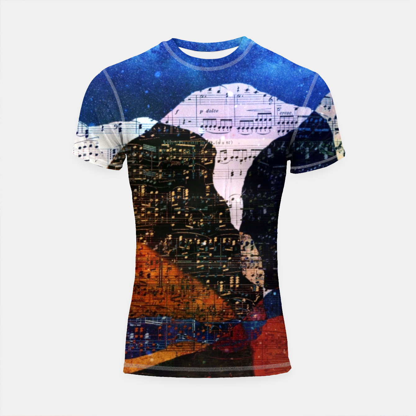 Foto The Hills are Alive With the Sound of Music Shortsleeve rashguard - Live Heroes