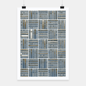 Thumbnail image of The Bookish Checkerboard Poster, Live Heroes