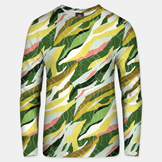 Gorgeous Green Military Cotton sweater thumbnail image