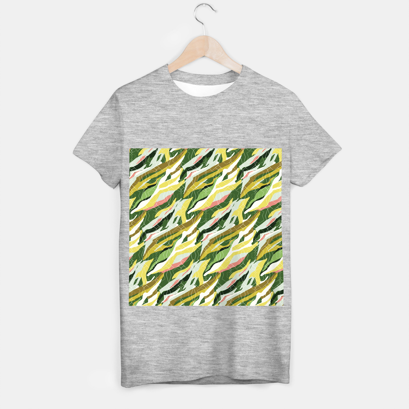 Image of Gorgeous Green Military T-shirt regular - Live Heroes
