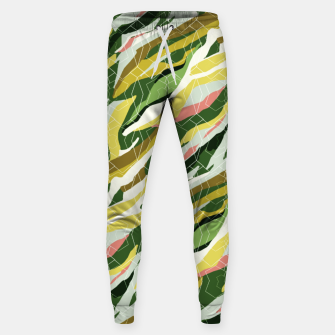 Gorgeous Green Military Cotton sweatpants thumbnail image