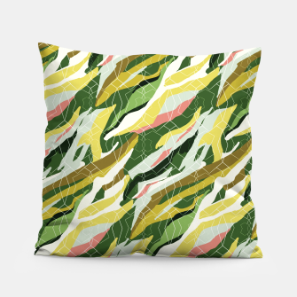 Gorgeous Green Military Pillow thumbnail image