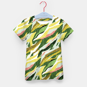 Gorgeous Green Military Kid's t-shirt thumbnail image