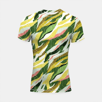 Gorgeous Green Military Shortsleeve rashguard thumbnail image