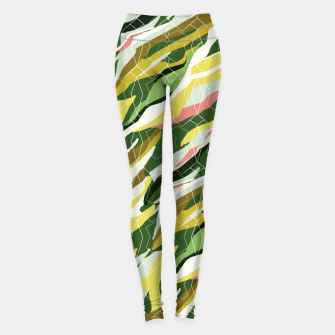 Gorgeous Green Military Leggings thumbnail image