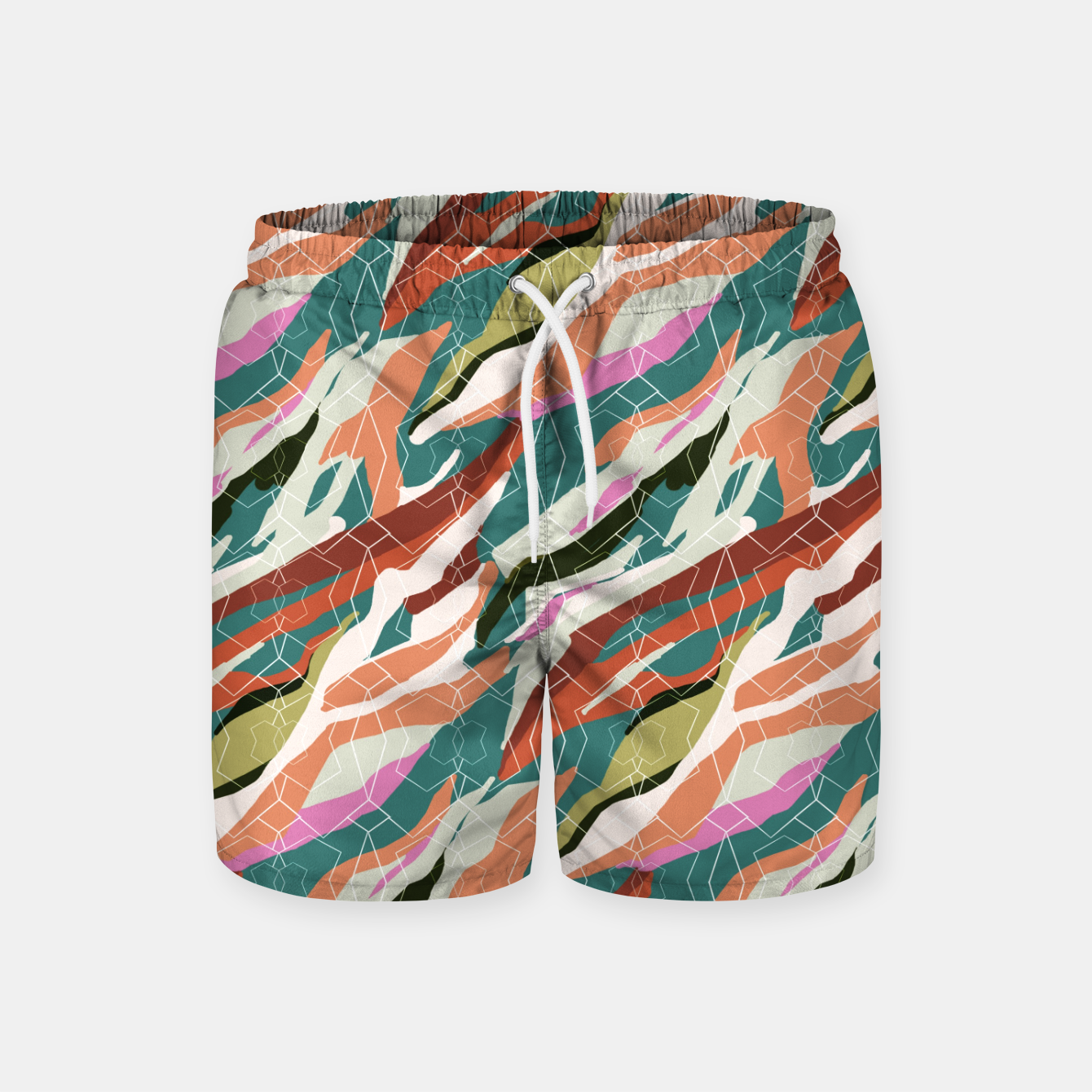 Image of Gorgeous Blue Military Swim Shorts - Live Heroes