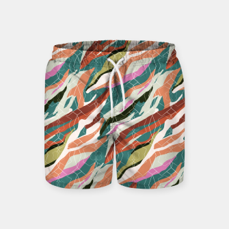 Gorgeous Blue Military Swim Shorts thumbnail image
