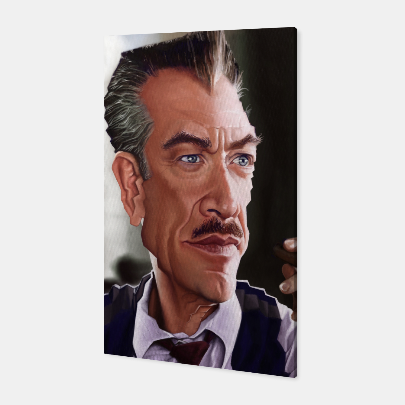 Image of JK Simmons Canvas - Live Heroes