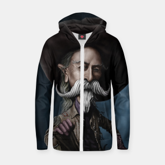 Thumbnail image of Buffalo Bill Cotton zip up hoodie, Live Heroes