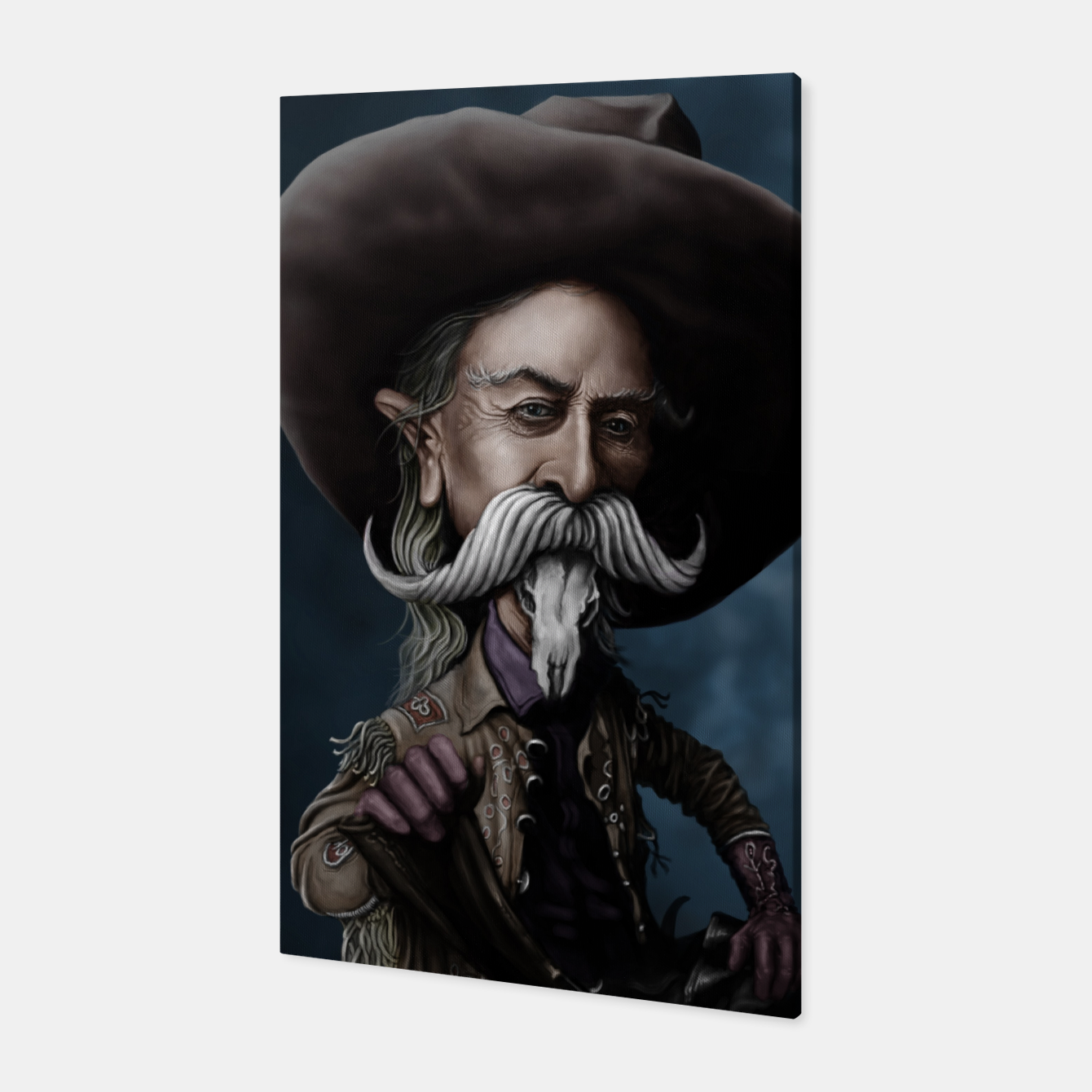 Image of Buffalo Bill Canvas - Live Heroes