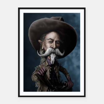 Thumbnail image of Buffalo Bill Framed poster, Live Heroes