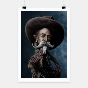 Thumbnail image of Buffalo Bill Poster, Live Heroes