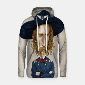 Thumbnail image of General George Custer Cotton hoodie, Live Heroes