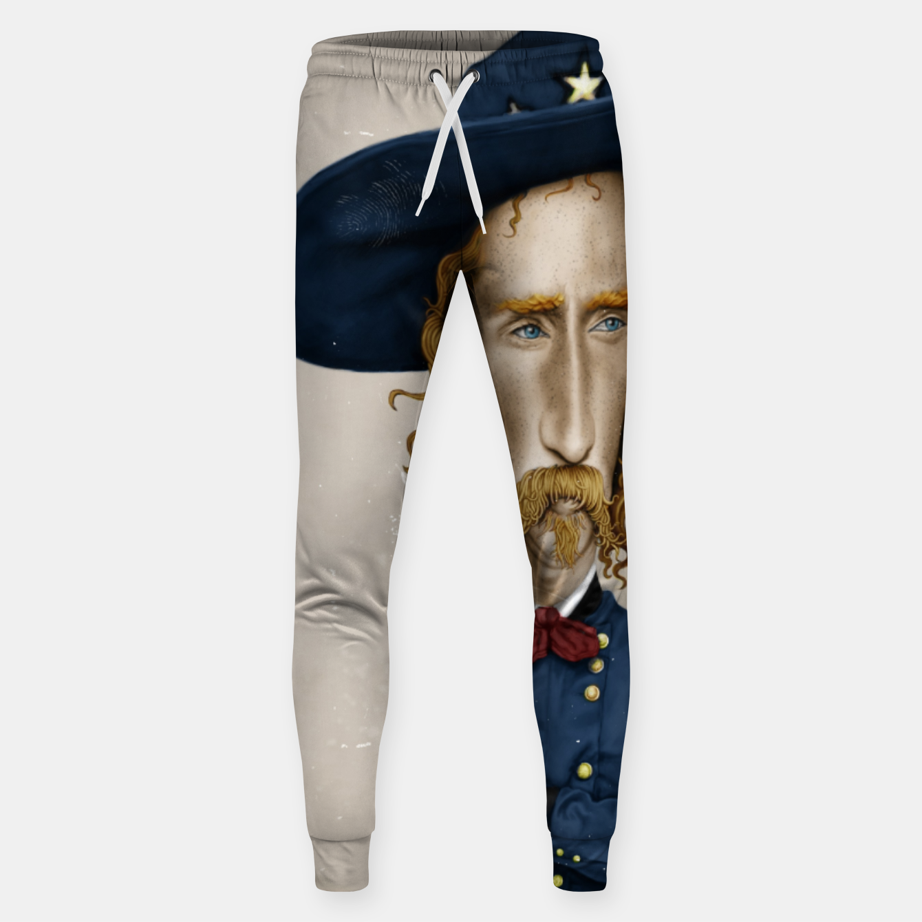 Image of General George Custer Cotton sweatpants - Live Heroes