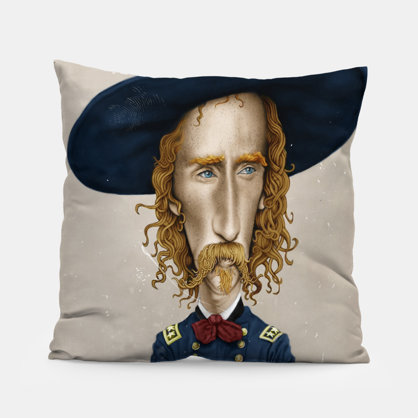 Image of General George Custer Pillow - Live Heroes