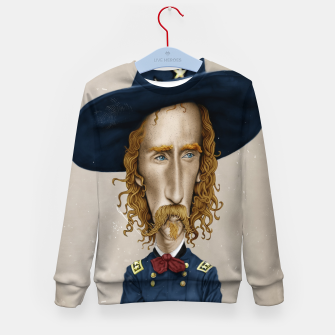 Thumbnail image of General George Custer Kid's sweater, Live Heroes