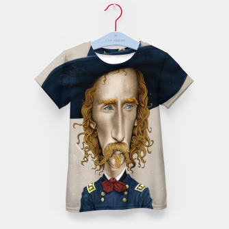 Thumbnail image of General George Custer Kid's t-shirt, Live Heroes