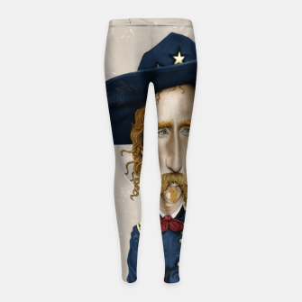 Thumbnail image of General George Custer Girl's leggings, Live Heroes