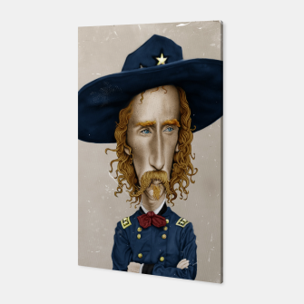 Thumbnail image of General George Custer Canvas, Live Heroes
