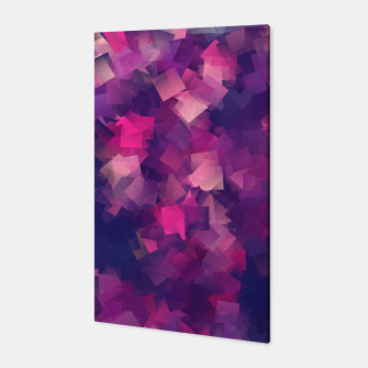 Miniatur abstraction purple magenta  Canvas, Live Heroes